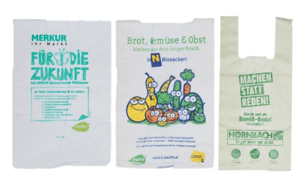 Sackerl ohne Plastik aus Naturkunststoff