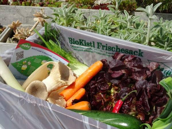 Der NaKu Einlegesack für Biokisten